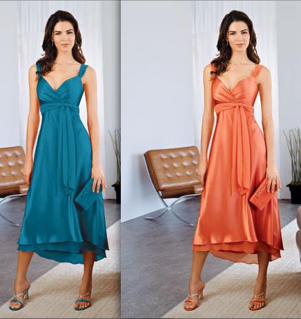 Brides' maid dresses