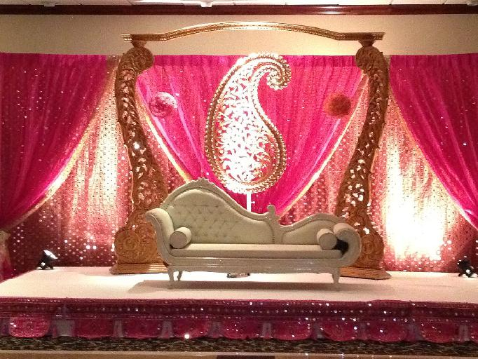 Decorations for Background decoration for indian wedding