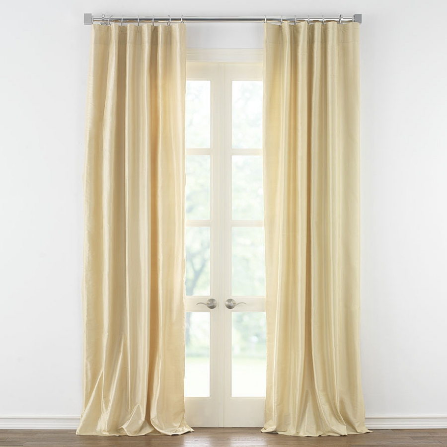 6 drapery - Decorative french door curtains designs and buying tips ...